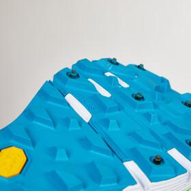 Salming iSpike Shoes Women Cyan Blue/White